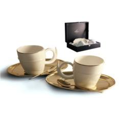 Фарфоровый чайный набор на 2 персоны Ричоло