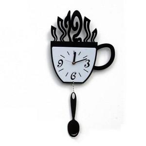 Настенные часы Чашка с ложкой