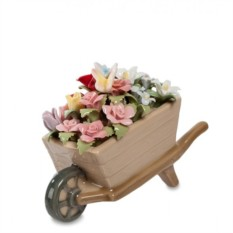 Фарфоровая композиция Весенние цветы