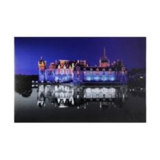 Картина со светодиодами Замок на воде