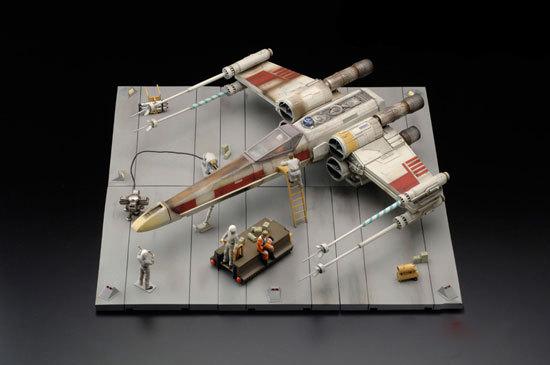 Макет SW — 3D X-WING SET