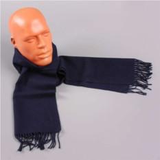 Синий теплый мужской шарф Club Seta