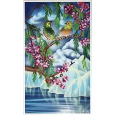 Картина с кристаллами Swarovski Вестники любви