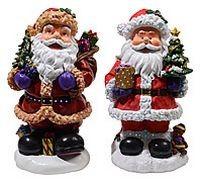 Миниатюра Санта с елкой