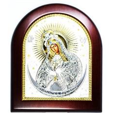 Остробрамская Божья Матерь. Икона в серебряном окладе.