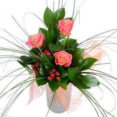Букет цветов Коралловый