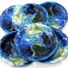 Набор из 6 тарелок Земля