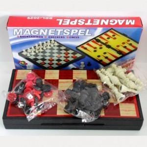 Набор игр Шахматы-шашки-нарды