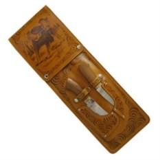 Элитный набор с шампурами с рукоятью из бронзы На отдыхе