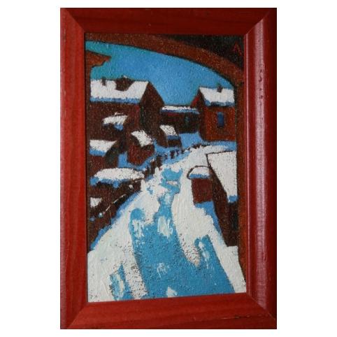 Картина «Зимний город»