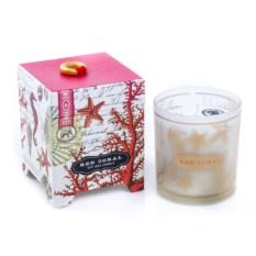 Свеча в подарочной упаковке Коралл