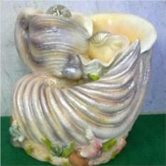 Фонтан с подсветкой Морская раковина (19 см)