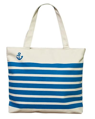 Сумка Sailor (бело-синяя)
