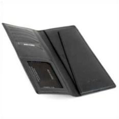 Черный дорожный бумажник Neri Karra