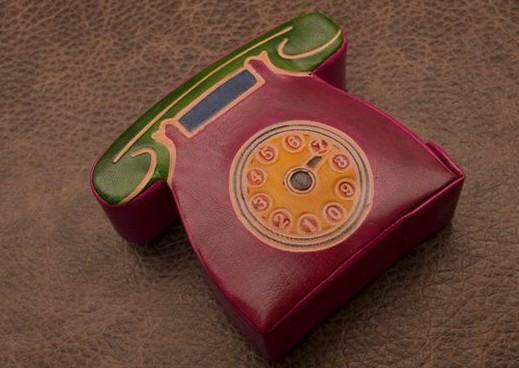 Копилка Малиновый телефон