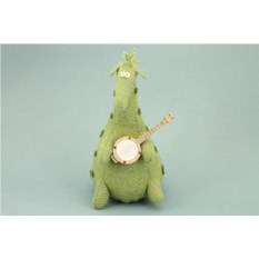 Мягкая игрушка Жираф-музыкант