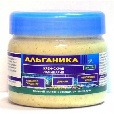 Солевой крем-скраб для тела «Ламинария» Альганика