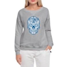 Женский свитшот Schalke Мексиканский череп