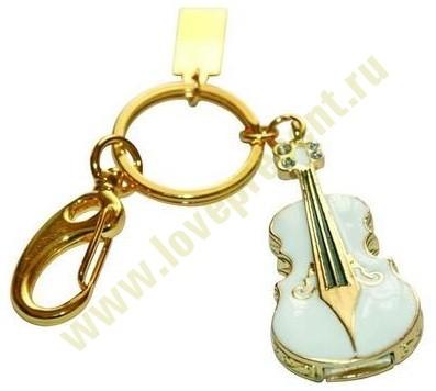 Флешка Скрипка, на 32 Гб