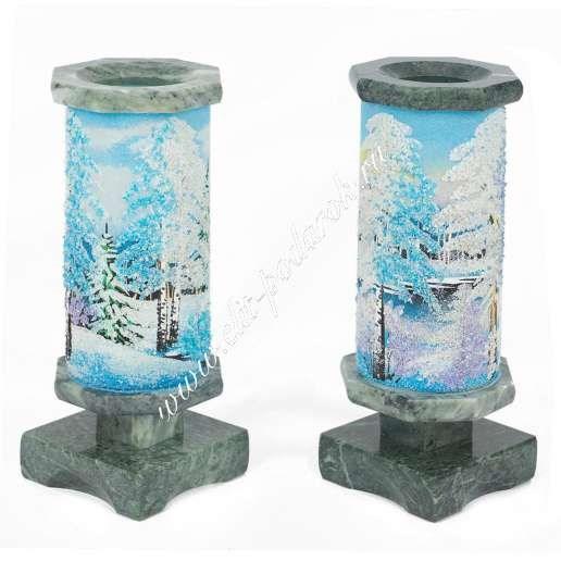Малая ваза Зима