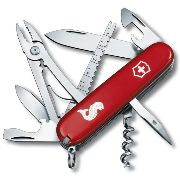 Швейцарский нож Victorinox Angler, 18 функций рыба