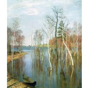 Репродукция картины Весна. Большая вода