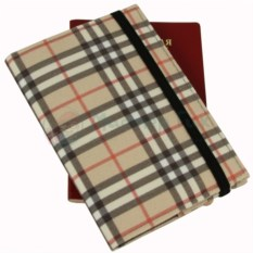 Обложка для паспорта Checkered