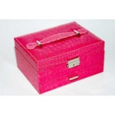 Шкатулка для бижутерии, розовая