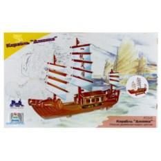 Деревянная сборная модель «Корабль Джонка»