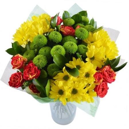 Букет цветов С улыбкой