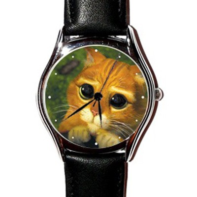 Наручные часы «Кот в сапогах»