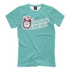 Мужская футболка Together Forever
