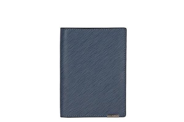 Синяя женская обложка для документов Leo Ventoni