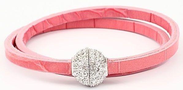 Браслет с кристаллами Swarovski  Магнитный шарик