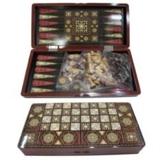 Подарочная настольная игра Шахматы, шашки, нарды