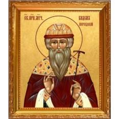 Икона на холсте Вадим Персидский Святой преподобномученик