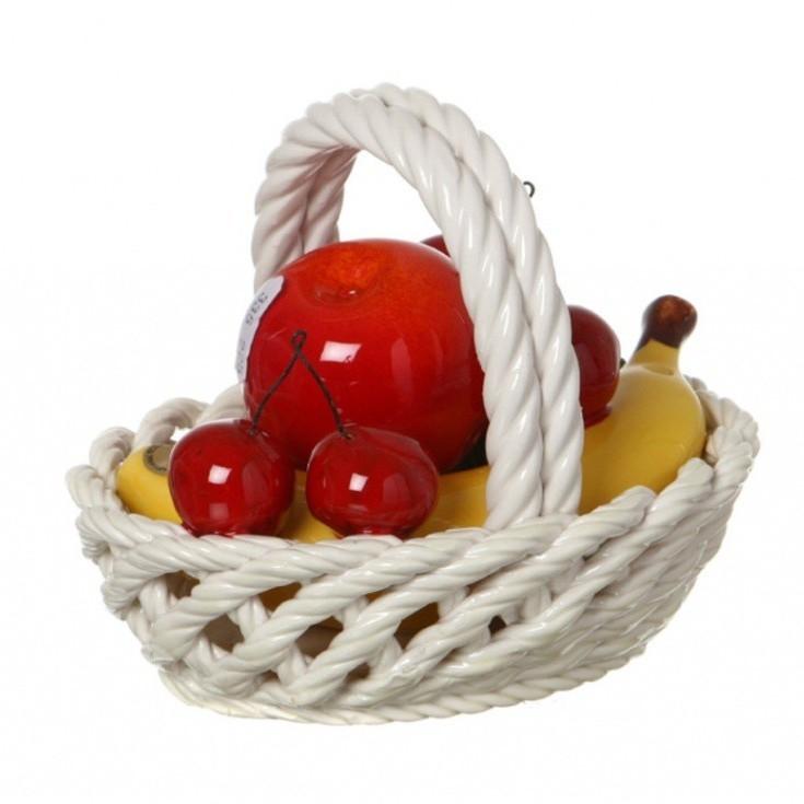 Изделие Корзина с фруктами овальная Ceramiche D'arte