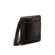 Кожаная сумка через плечо Brialdi Carano (цвет — черный)