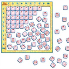 Магнитный пазл «Таблица умножения»
