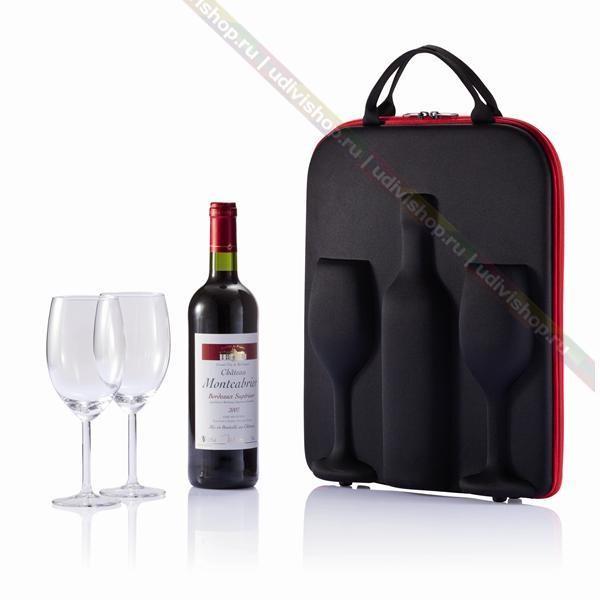 Кейс для переноски вина Swirl