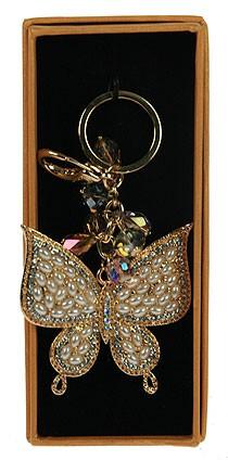 Брелок для сумочки и ключей Бабочка
