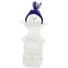 Фигурка с led-подсветкой Снеговик
