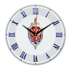 Стеклянные настенные часы «ФСБ России»