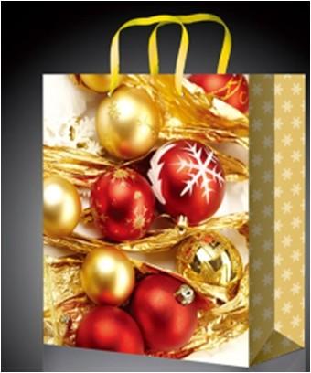 Праздничный новогодний пакет для подарков