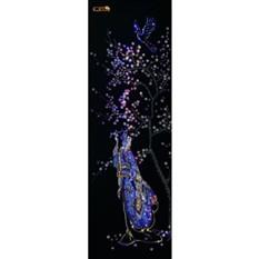 Картина с кристаллами Swarovski Японское панно''