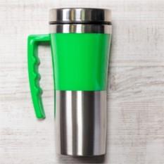 Зелёная термокружка Адель