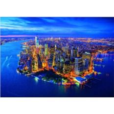 Пазл Educa Нью-Йорк с высоты птичьего полёта (2000 шт.)