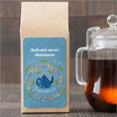 Чёрный чай Мамина радость