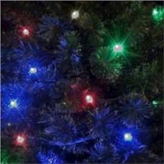 Разноцветная светодиодная гирлянда (12 м, 80 лампочек)