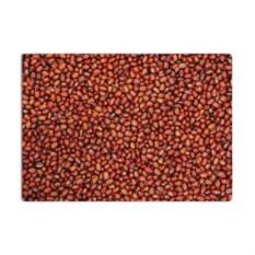 Разделочная стеклянная 3D доска Red bean